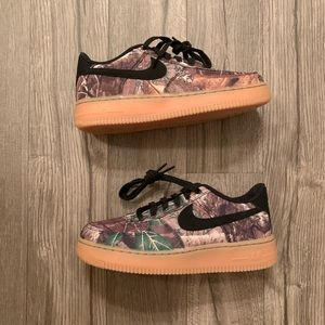 Nike Air Force 1 real tree